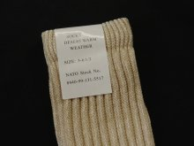 他の写真1: イギリス軍 デザートソックス 靴下 (DEADSTOCK)