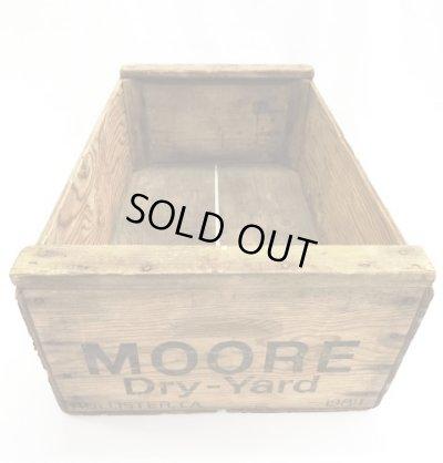 画像1: MOORE ウッド ボックス (ANTIQUE)