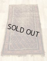 OLD HAND WOVEN TRIBAL RUG [ANTIQUE]