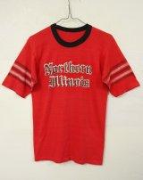 80'S 綿ポリ Tシャツ USA製 (VINTAGE)