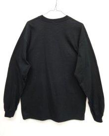 他の写真3: GILDAN ポケット付き ロングスリーブ Tシャツ BLACK (NEW)