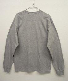他の写真3: GILDAN ポケット付き ロングスリーブ Tシャツ GREY (NEW)
