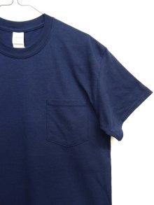 他の写真2: GILDAN ポケット付き 半袖 Tシャツ NAVY (NEW)