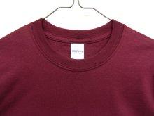他の写真1: GILDAN ポケット付き 半袖 Tシャツ BURGUNDY (NEW)