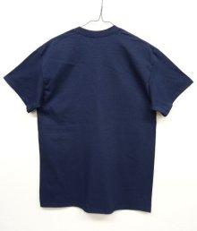 他の写真3: GILDAN ポケット付き 半袖 Tシャツ NAVY (NEW)