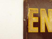 他の写真1: 40'S メタル サインプレート ENTRANCE (ANTIQUE)