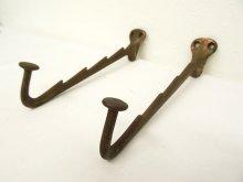 他の写真1: アイアン製 ロングフック コート ハンガー 2本セット (ANTIQUE)