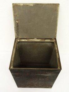 他の写真3: UNKNOWN メタル製 ボックス 収納箱 (ANTIQUE)