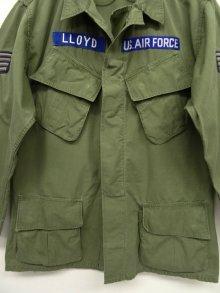 """他の写真2: 60'S アメリカ軍 USAF """"JUNGLE FATIGUE 2nd"""" ノンリップ ガスフラップ付き ポプリンジャケット (VINTAGE)"""