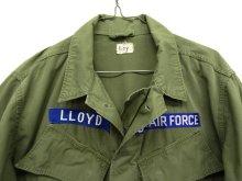 """他の写真1: 60'S アメリカ軍 USAF """"JUNGLE FATIGUE 2nd"""" ノンリップ ガスフラップ付き ポプリンジャケット (VINTAGE)"""