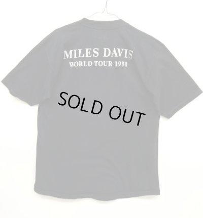 画像2: 90'S MILES DAVIS ワールドツアー Tシャツ BLACK (VINTAGE)