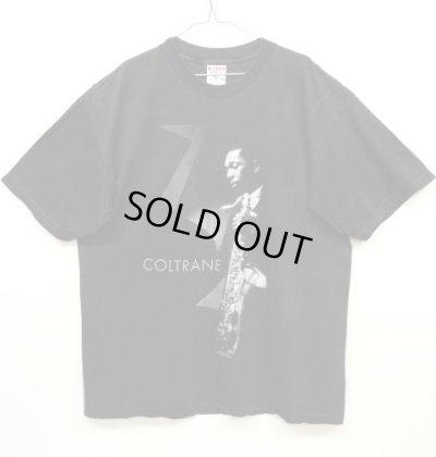 画像1: 90'S JOHN COLTRANE Tシャツ BLACK USA製 (VINTAGE)