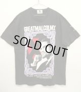 """90'S MALCOLM X """"BY ALL MEANS NECESSARY"""" Tシャツ USA製 (VINTAGE)"""