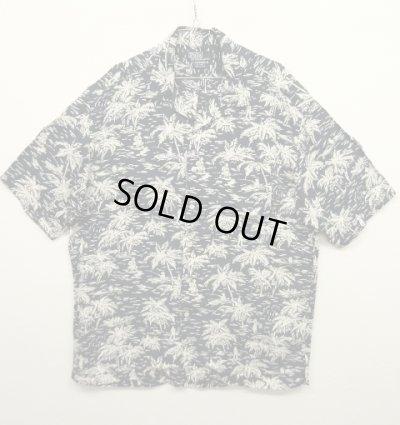 画像1: 90'S RALPH LAUREN レーヨン オープンカラー アロハシャツ (VINTAGE)