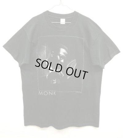 画像1: 90'S THELONIOUS MONK Tシャツ BLACK USA製 (VINTAGE)
