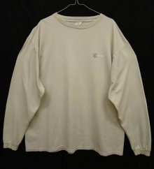 他の写真2: 90'S PATAGONIA 白タグ バックプリント ロゴ 長袖Tシャツ USA製 (VINTAGE)