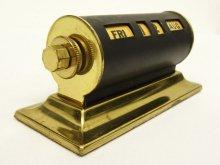 他の写真1: PARK SHERMAN ブラス製 パーペチュアルカレンダー マットブラック/ゴールド (ANTIQUE)