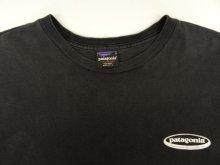 他の写真3: 90'S PATAGONIA 雪無し 黒タグ オーバルロゴ Tシャツ ブラック USA製 (VINTAGE)