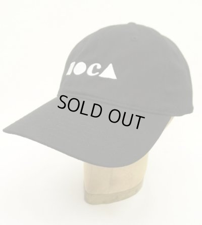 画像1: MOCA LA ロサンゼルス現代美術館 キャップ ブラック 日本未発売 (NEW)