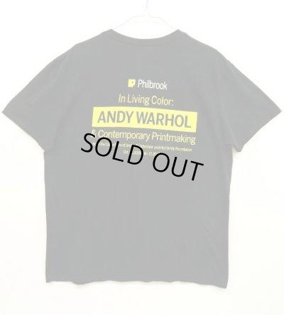"""画像2: ANDY WARHOL """"MARILYN MONROE (MARILYN) 1967 """" オフィシャル Tシャツ (USED)"""