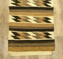 他の写真2: ナバホ族 ハンドウーブン ラグ 142cm x 57cm (ANTIQUE)