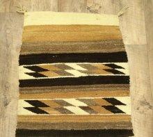 他の写真1: ナバホ族 ハンドウーブン ラグ 142cm x 57cm (ANTIQUE)