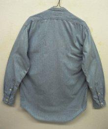 他の写真3: 90'S RRL 初期 三ツ星タグ スタンドカラー シャンブレーシャツ (VINTAGE)
