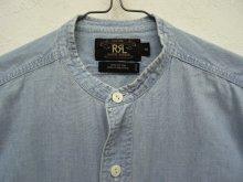 他の写真1: 90'S RRL 初期 三ツ星タグ スタンドカラー シャンブレーシャツ (VINTAGE)