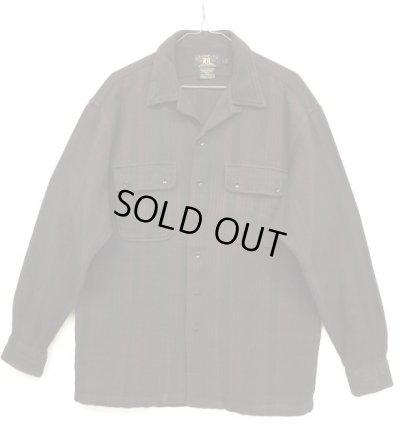 画像1: 90'S RRL 初期 三ツ星タグ オープンカラーシャツ (VINTAGE)