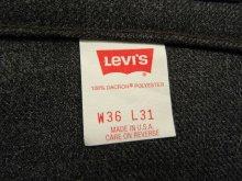 """他の写真3: 90'S LEVIS 517 """"STA-PREST"""" スタプレ パンツ CHARCOAL USA製 (DEADSTOCK)"""