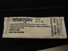 """他の写真3: 80'S WRANGLER """"WRANCHER"""" スタプレ パンツ BLACK USA製 (DEADSTOCK)"""