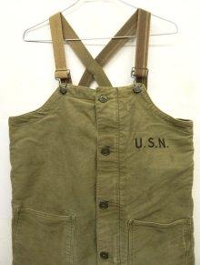 他の写真1: 40'S アメリカ軍 US NAVY デッキトラウザーズ オーバーオール SMALL (VINTAGE)