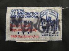 他の写真2: US IMMIGRATION SERVICE UNIFORM オフィシャル ナイロンジャケット USA製 (USED)