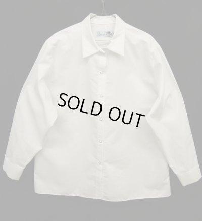 画像1: RED KAP ドットボタン 長袖 ボックスシャツ WHITE (NEW)