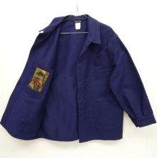他の写真2: LE LABOUREUR モールスキン フレンチワークジャケット カバーオール フランス製 (DEADSTOCK)