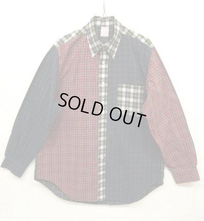 画像1: 90'S BROOKS BROTHERS BDシャツ クレイジーパターン USA製 (VINTAGE)