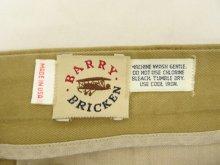 他の写真3: 80'S BARRY BRICKEN ツープリーツ チノパン TALONジップ USA製 (VINTAGE)