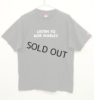 """画像1: 90'S ELEMENT """"LISTEN TO BOB MARLEY"""" オリジナル Tシャツ USA製 (VINTAGE)"""