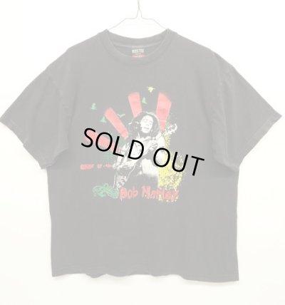 画像1: 90'S BOB MARLEY 半袖 Tシャツ BLACK (VINTAGE)