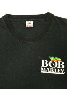 他の写真1: 90'S BOB MARLEY シングルステッチ 半袖 Tシャツ BLACK USA製 (VINTAGE)