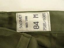 他の写真3: 90'S フランス軍 コットンサテン F2 フィールドパンツ (DEADSTOCK)