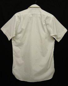 他の写真3: 60'S EATON'S OF CANADA マチ付き 半袖 シャツ WHITE 日本製 (VINTAGE)