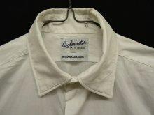 他の写真1: 60'S EATON'S OF CANADA マチ付き 半袖 シャツ WHITE 日本製 (VINTAGE)
