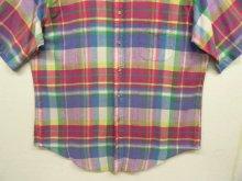 他の写真2: 80'S ABERCROMBIE & FITCH 旧タグ マドラスチェック BDシャツ USA製 (VINTAGE)