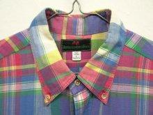 他の写真1: 80'S ABERCROMBIE & FITCH 旧タグ マドラスチェック BDシャツ USA製 (VINTAGE)