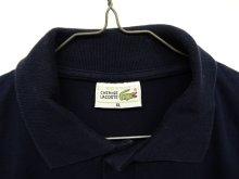 他の写真1: 70'S CHEMISE LACOSTE ポロシャツ ネイビー フランス製 (VINTAGE)