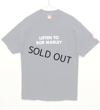"""画像1: ELEMENT """"LISTEN TO BOB MARLEY"""" オリジナル Tシャツ USA製 (DEADSTOCK)"""