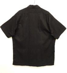 """他の写真3: 90'S RALPH LAUREN """"CHAUNCEY"""" コットン 半袖シャツ BLACK (VINTAGE)"""