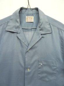 """他の写真2: 60'S TOWNCRAFT """"PENN PREST"""" オープンカラーシャツ BLUE (VINTAGE)"""