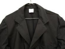 他の写真1: 90'S イタリア軍 ベント付き ワークコート ブラック (DEADSTOCK)